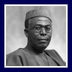 Nnami Azikiwe, one of Nigeria's founders
