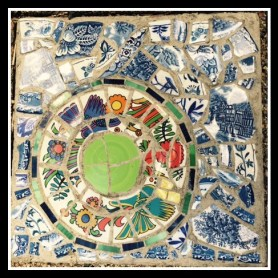 Mosaic made by my sister-in-law Mary.