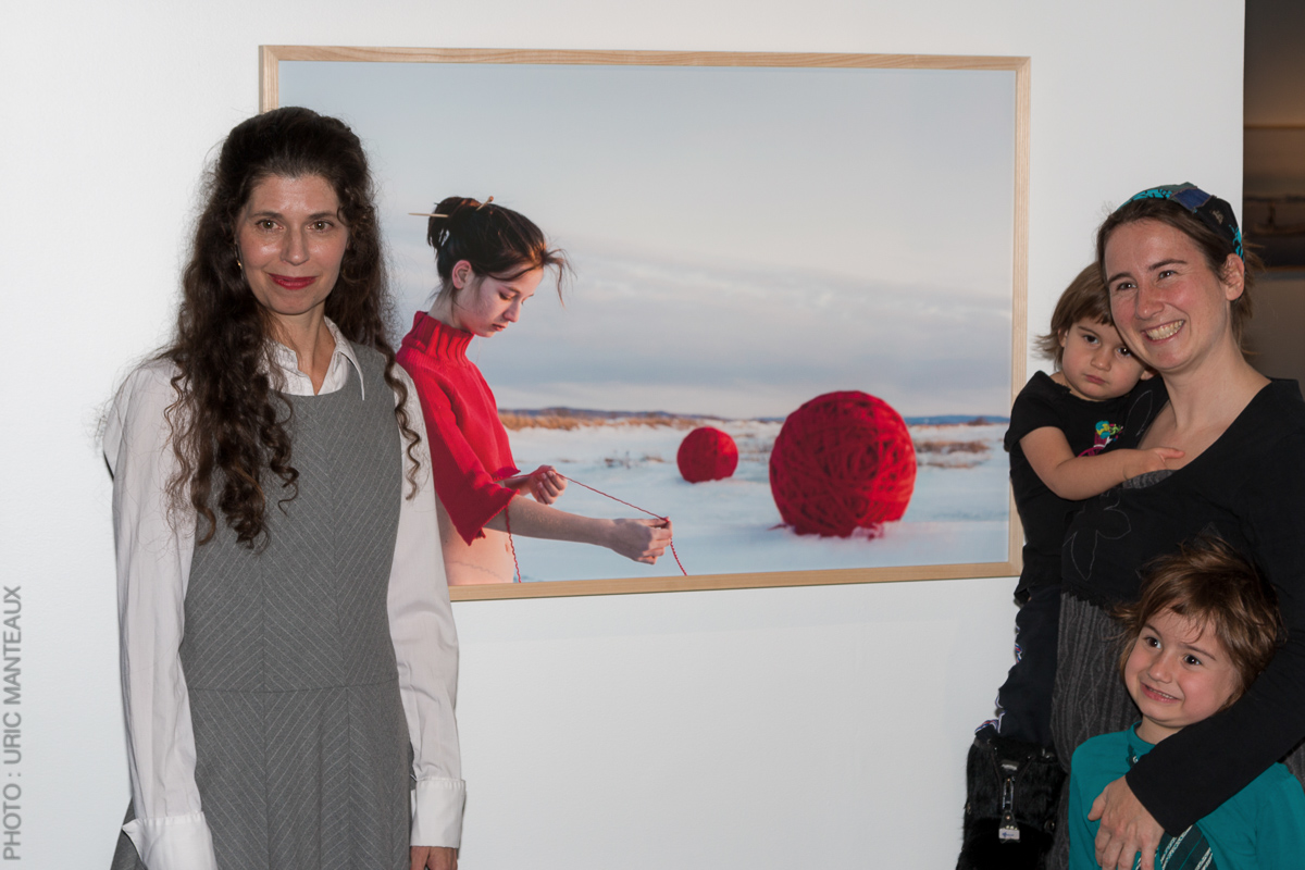 """Opening of the exhibition """"Maiden Tales"""", 2 December 2018, MBAMSH."""