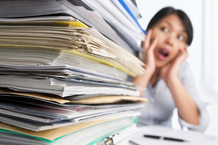 How to Deal with a Heavy workload