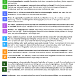 Problems at Work? Top 20 Ways to Be Happy at Work (Infographic)