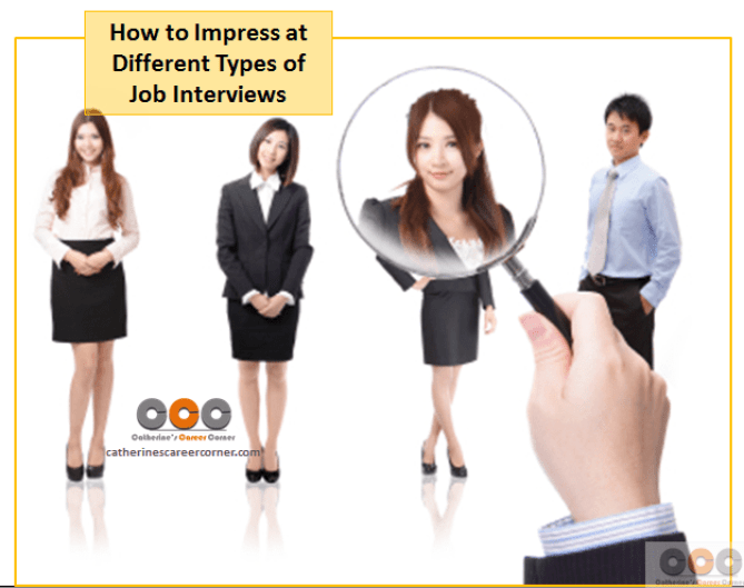 How to Impress at Different Types of Job Interviews