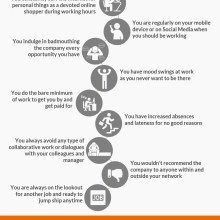 12 Ways You Demonstrate Disengagement at Work_Infographic