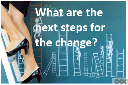 What are the next steps for the change?