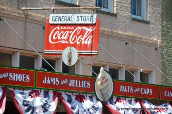 The Jefferson, Texas, General Store beckons travelers, tourists and residents with refreshments, clothing and all sorts of other enticements.