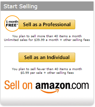Sell on Amazon
