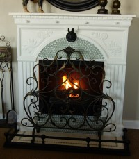 A French Country Fireplace {So You Think Youre Crafty ...