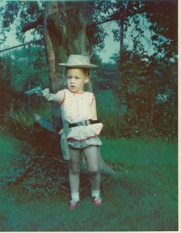 Cathleen, age 4.