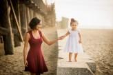 Sister Portrait - Seal Beach, CA