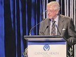 NZ priest Gerald Arbuckle receives healthcare Lifetime Contribution Award