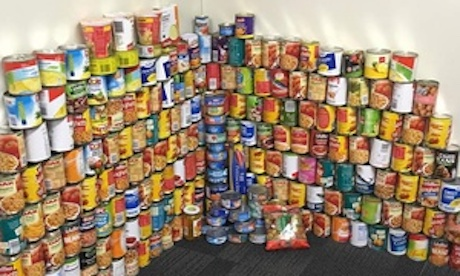 cans for christmas