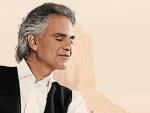 Tenor Andrea Bocelli singing for Pope at World Meeting of Families