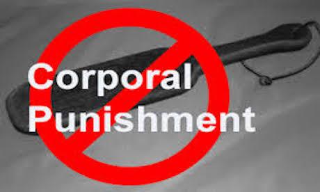 corporal punishmen