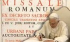 Pope approves changes to missal translation