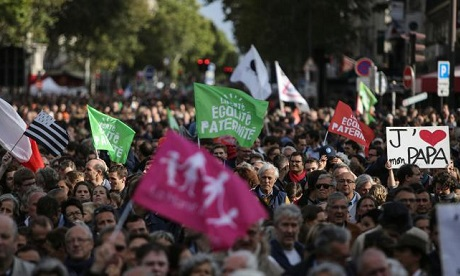 Thousands march in France against IVF