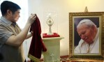 Thieves steal a vial containing Pope St John Paul's blood
