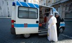 Pope's charity provides free coronavirus tests for homeless