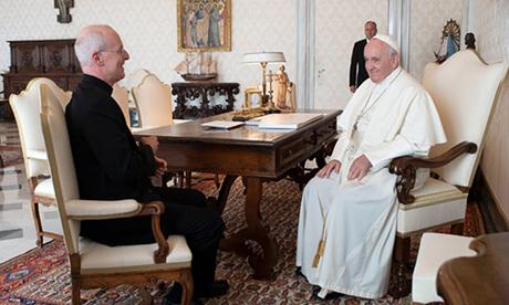 Pope praised priest