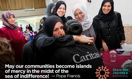 Caritas Interationalis Share the Journey