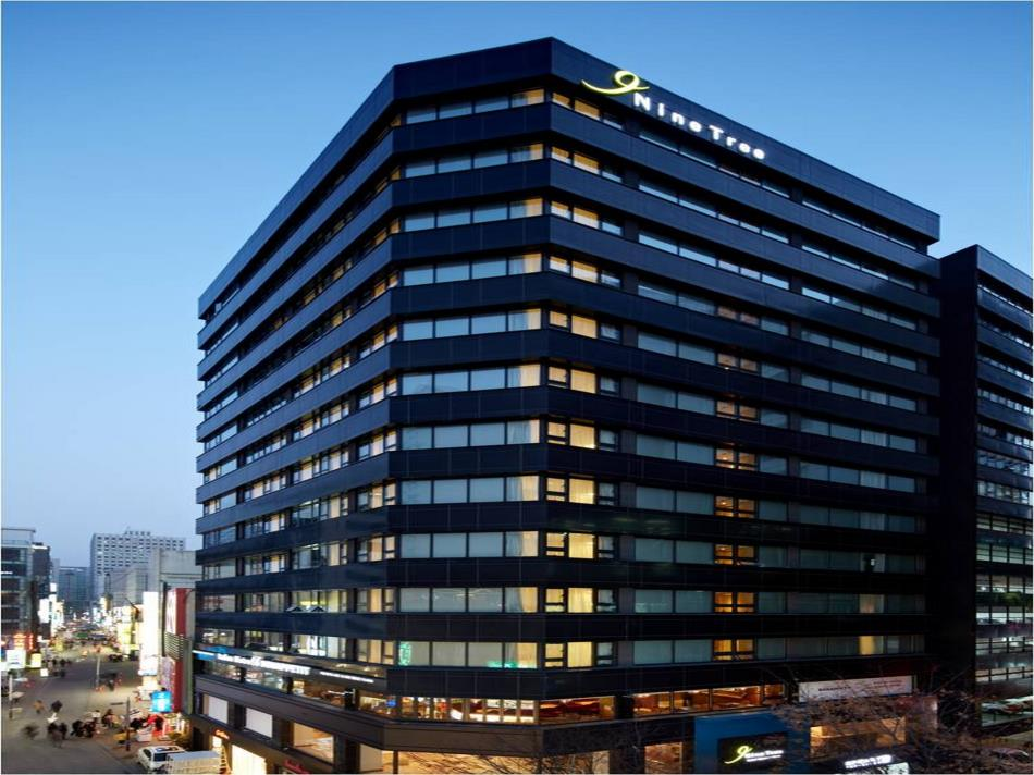 Nine Tree Hotel Myeong Dong In Seoul South Korea Top