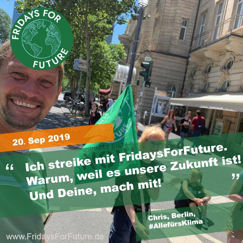 FFF Frankfurt - Strike 06.2019 Street Blockade