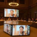 EU Green Spider Summit - Watching Greta