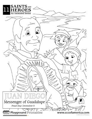 Liturgical Living for Beginners: An Our Lady of Guadalupe