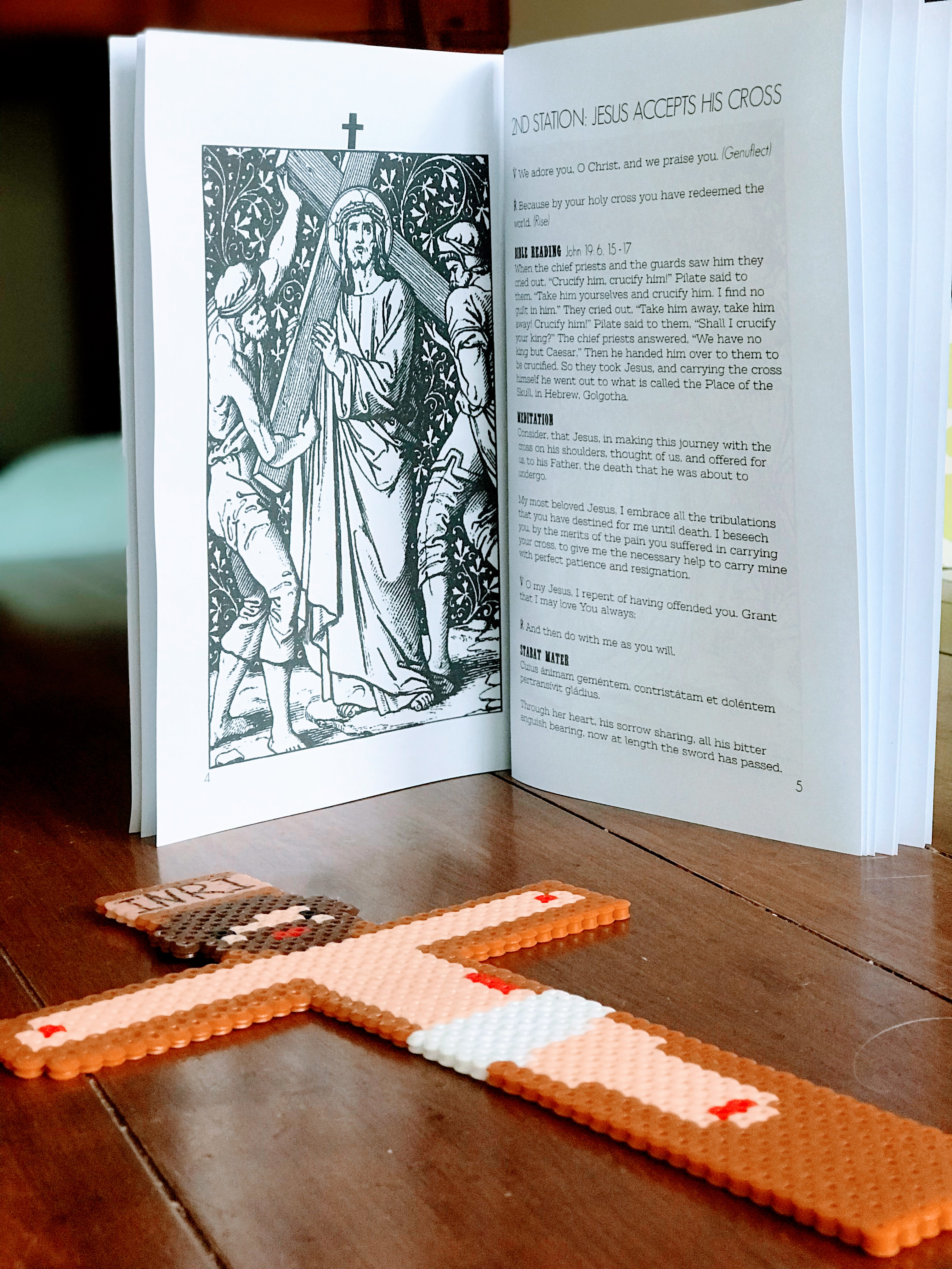 Stations Of The Cross Printable Booklet Digital Download