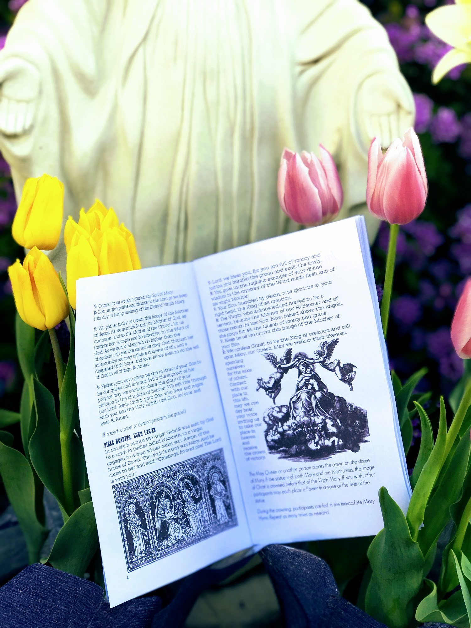 May Crowning Printable Booklet Of Prayers Hymns Amp Bible Readings Digital Download