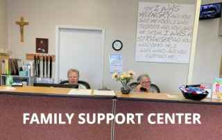 photo of family service center entrance room
