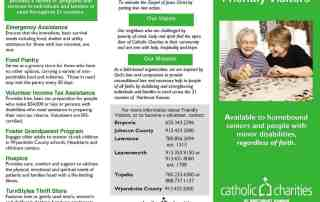 Friendly Visitors brochure page 1
