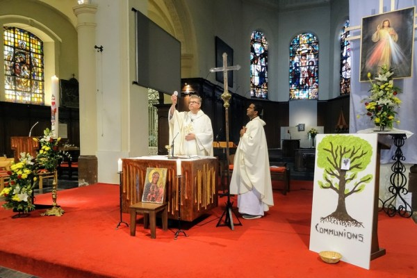 Eucharist celebration with Dean Dirk De Gendt and Fr Bosco
