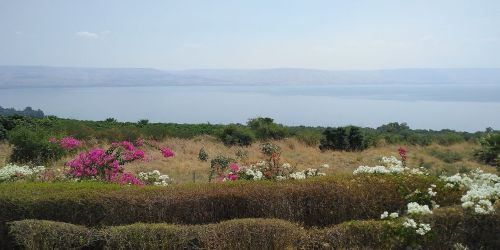 View of the Sea of Galilee