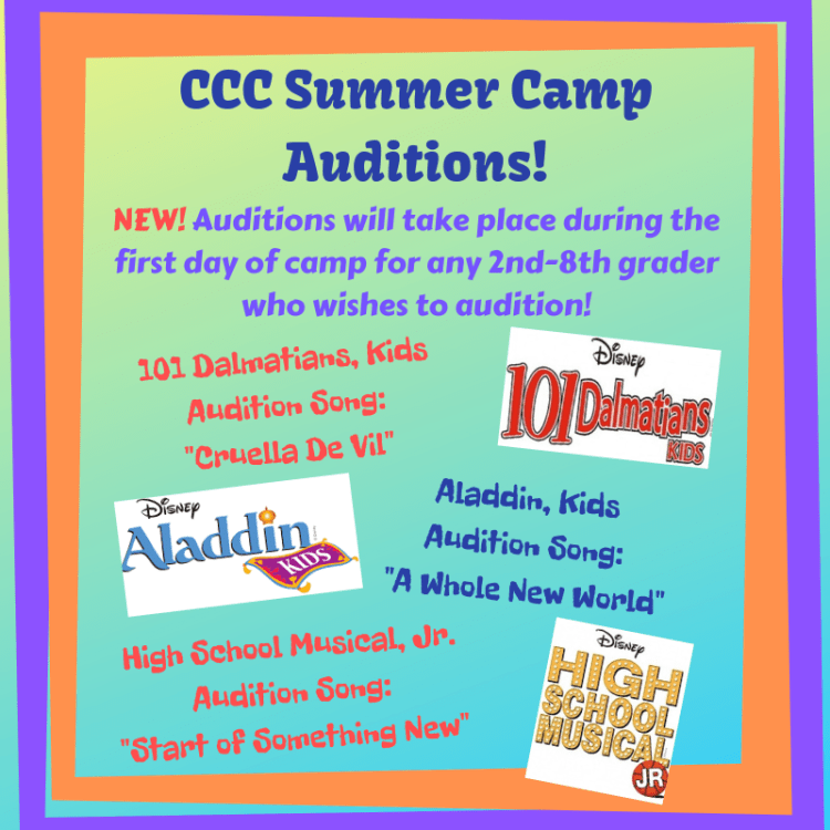 Summer Camp Auditions 4