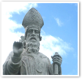 patrick-statue