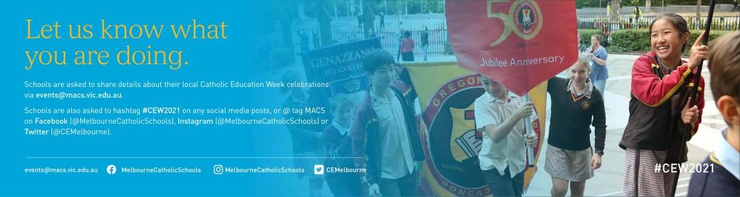 Catholic Education Week Advert