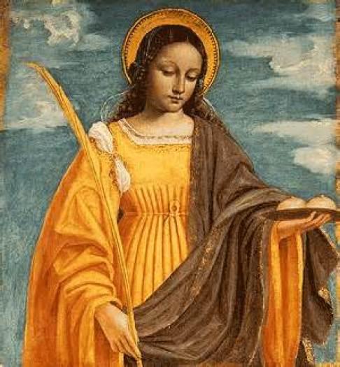 St. Agatha Public Domain Image