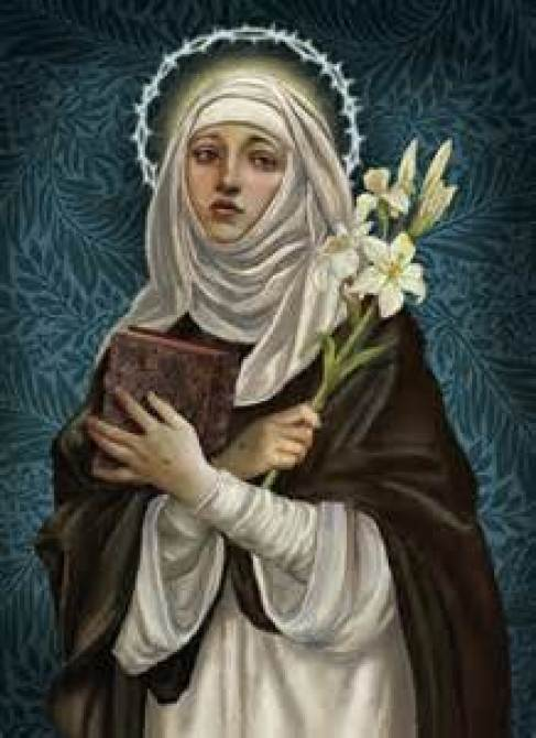 St. Catherine of Siena Public Domain Image