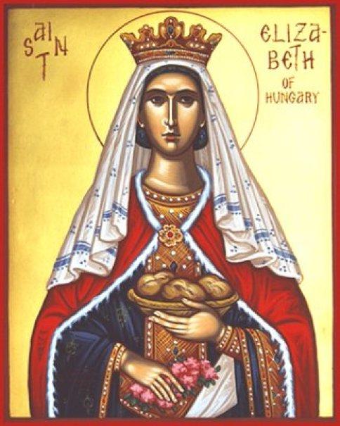 St. Elizabeth of Hungary Public Domain Image