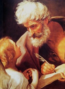 St. Matthew and the Angel Public Domain Image