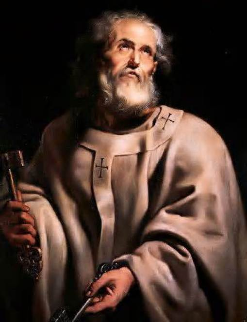 St. Peter by Rubens Apostle and Martyr Public Domain Image