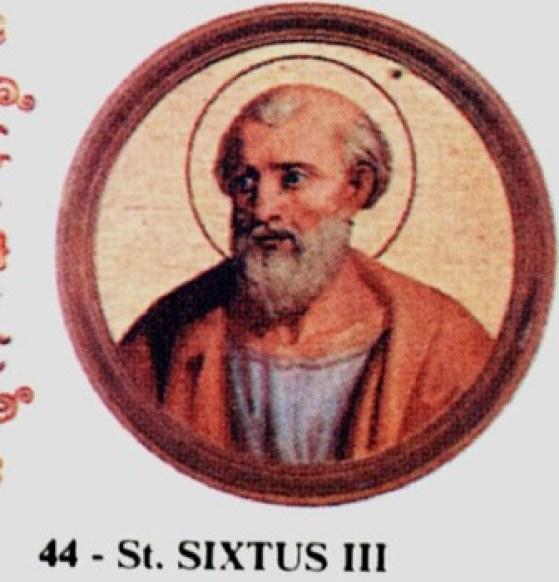 St. Sixtus III