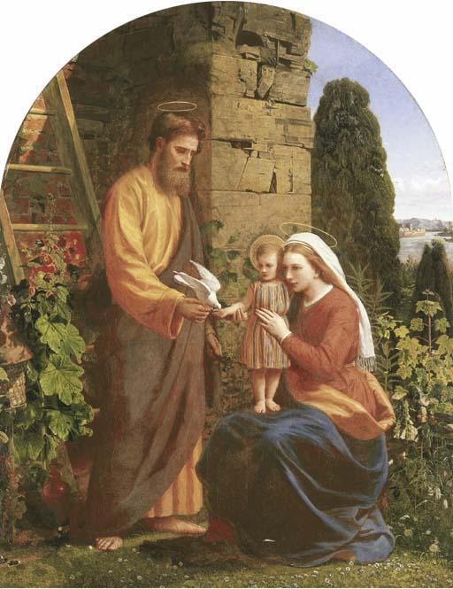 The Holy Family Public Domain Image