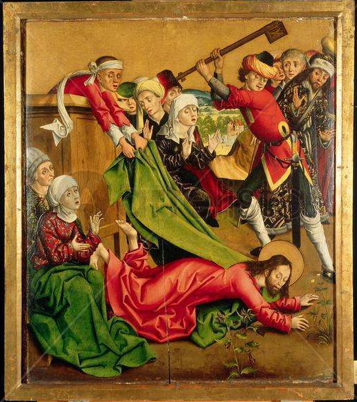 Martyrdom of the Apostle St. James the Less by Master of the Winkler Epitaph Public Domain Image