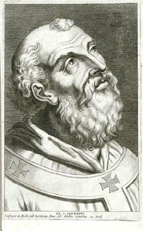 St. Silverius Public Domain Image