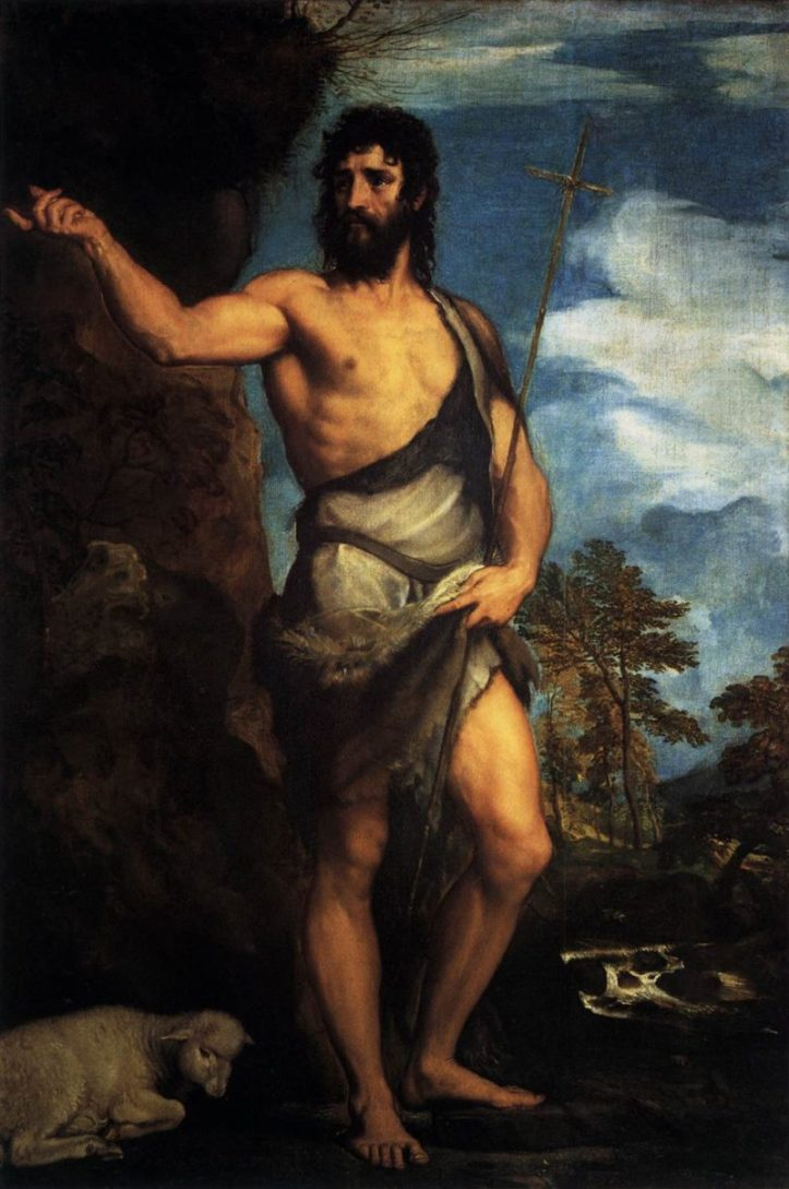 St. John the Baptist Public Domain Image