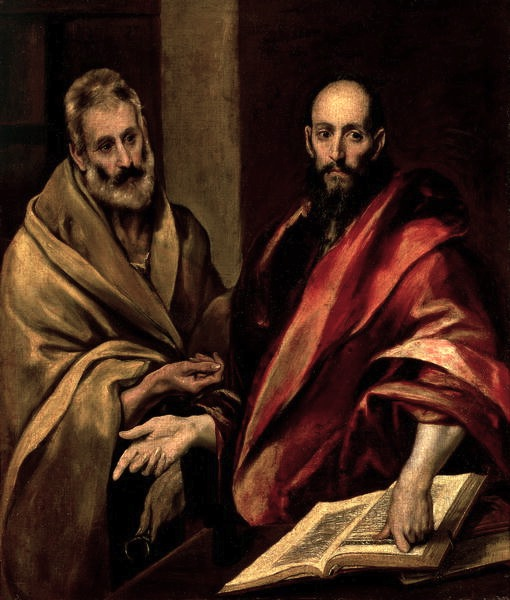 The Apostles St. Peter and St. Paul Public Domain Image