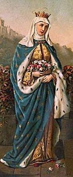 St. Elizabeth of Portugal Public Domain Image