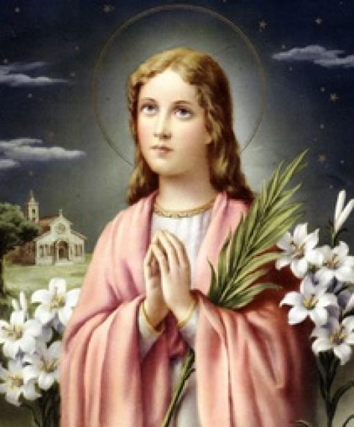 St. Maria Goretti Public Domain Image
