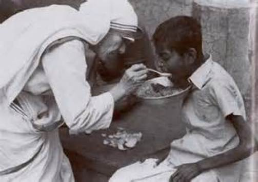 Mother Teresa Public Domain Image